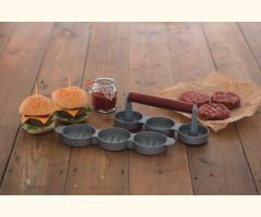 Mini Burger Press/Maker + Free Burger Mix