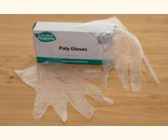 Disposable Polythene Food Grade Gloves (500) - Clear
