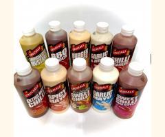 10 x Assorted Crucials Sauce - 500ml