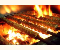 Gluten Free Kofta Kebab & Burger