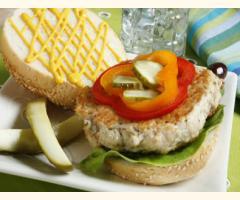 Organic Chicken Burger Mix - 50g (1kg Batch)
