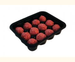 Meatball Tray Black X 10