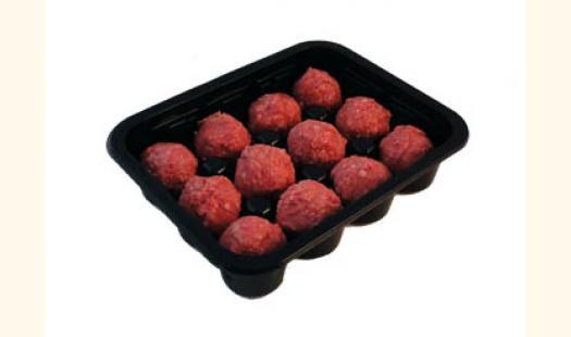 Meatball Tray Black X 10
