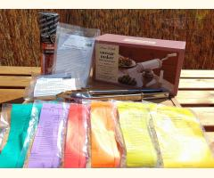Complete Sausage Starter Kit - Sausage Stuffer Included - (Pack 1) + APRON
