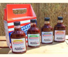 4 PACK - All Flavours Mississippi BBQ Sauce - Exclusive to TONGMASTER - 510g