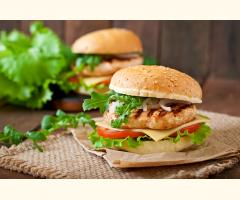 Chicken Burger Complete Mix - 500g (5KG Batch)