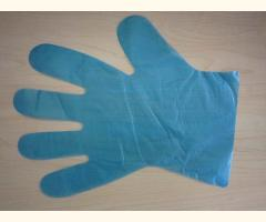 Disposable Polythene Food Grade Gloves (100) - Blue