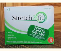 Stretch2Fit Latex-Free Unpowdered Gloves (200) - Green