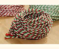 'Jingle Bell' Candy Stripe Twine