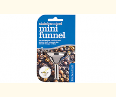 Christmas - Kitchen Craft Stainless Steel Mini Funnel (5.5cm)