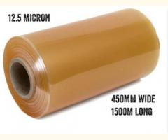 Cling Film 450mm Wide 1500m Long 12.5 Micron