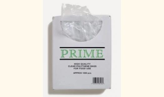 "Clear Polythene Bags - (100 Gauge) 6"" x 8"" - 1000/Box"