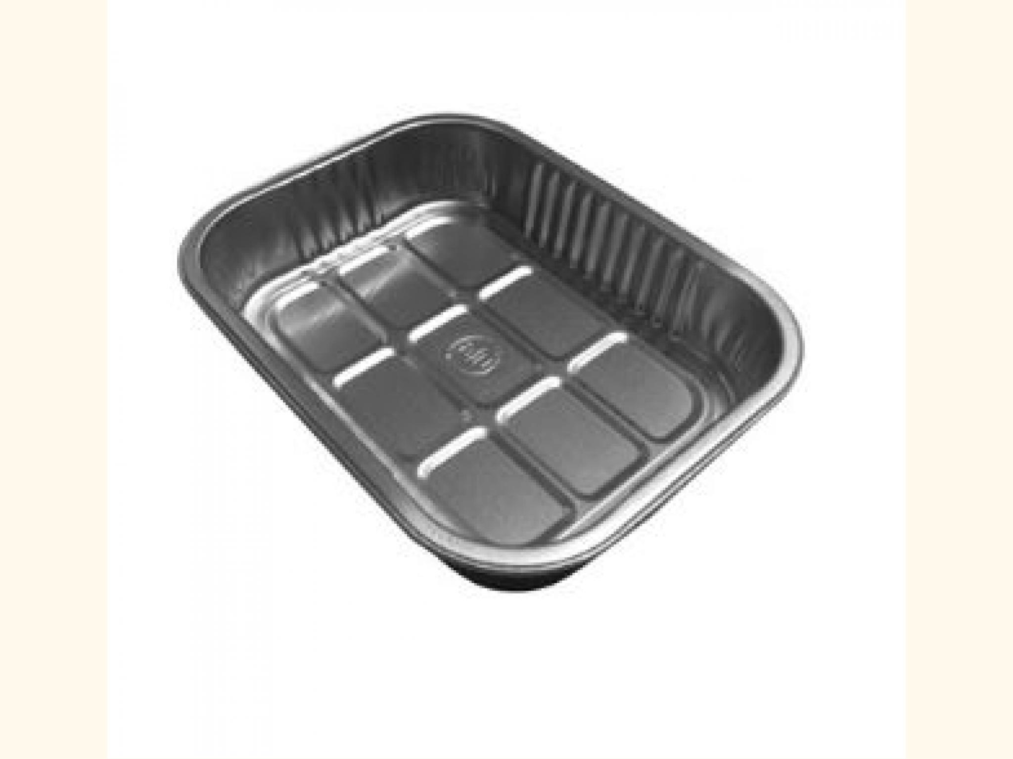 Microwaveable Aluminium Trays (178mm x 136mm) - 10 pack