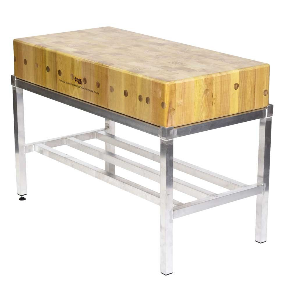 Butchers Block 4ft By 2ft 120x60cm Without Stand