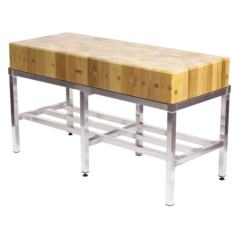 Butchers Block 5ft By 2ft 150x60cm With Stand